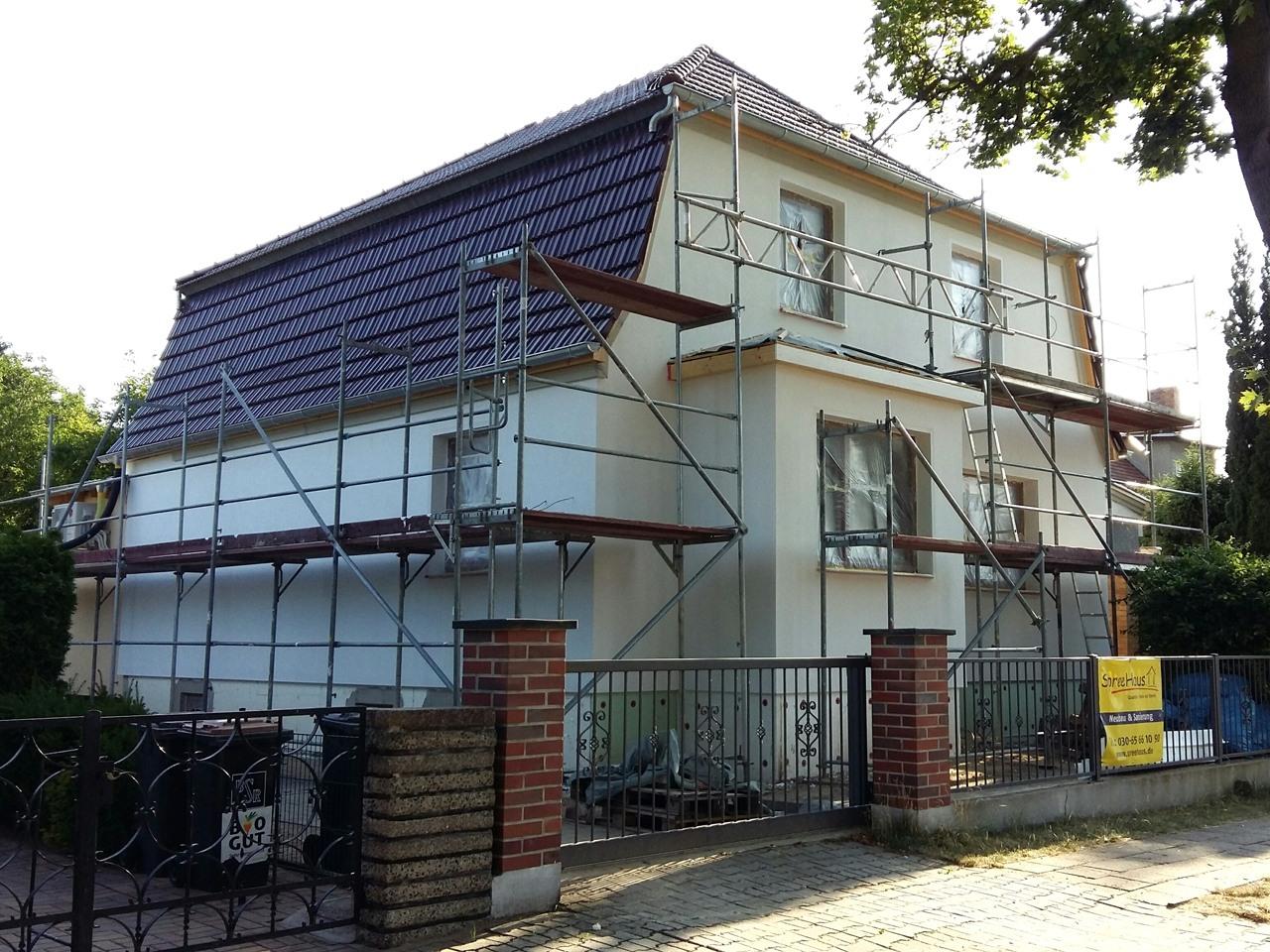 Bausanierung Einfamilienhäuser